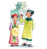 Tập đọc: Sự tích lễ hội Chử Đồng Tử