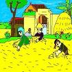 Tập đọc: Quang cảnh làng mạc ngày mùa