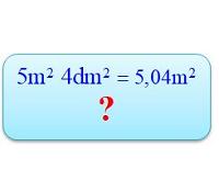 Viết các số đo diện tích dưới dạng số thập phân