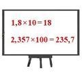 Nhân một số thập phân với 10, 100, 1000, …