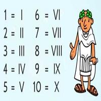 Làm quen với chữ số La Mã