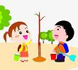 Chính tả: Bài hát trồng cây
