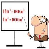 Thể tích của một hình. Xăng-ti-mét khối. Đề-xi-mét khối. Mét khối
