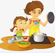 Luyện từ và câu: Mở rộng vốn từ : Từ ngữ về công việc gia đình. Kiểu câu: Ai làm gì ?