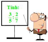 Phép chia phân số