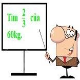 Các bài toán cơ bản về phân số: Tìm giá trị phân số của một số