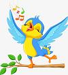 Luyện từ và câu: từ ngữ về loài chim. Dấu chấm, dấu phẩy