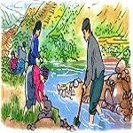 Tập đọc: Ngu Công xã Trịnh Tường