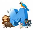 Tập viết: Chữ hoa M, N (kiểu 2)