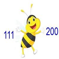 Các số từ 111 đến 200