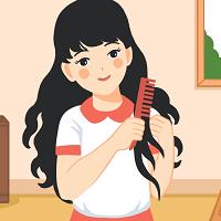 Bài 1: Đọc: Tóc xoăn và tóc thẳng