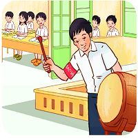 Bài 12: Viết: Nghe viết: Cái trống trường em