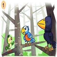 Bài 15: Nói và nghe: Kể chuyện: Họa mi vẹt và quạ